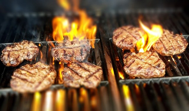 how to cook burgers on george foreman grill